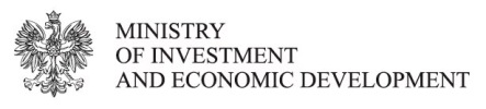 Logo of the Ministry of Investment and Economic Development
